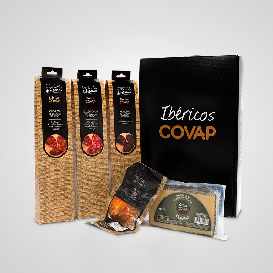 Box Delicias Artesanas | Ibéricos COVAP