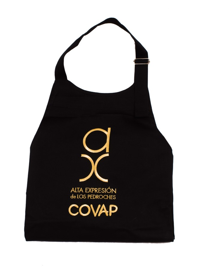 Mandil Alta Expresión oro COVAP  Ibéricos COVAP