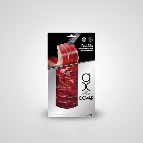 Paleta de Bellota 100% Ibérica Alta Expresión 70 gr. cortado a cuchillo | Ibéricos COVAP