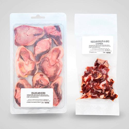 Picos de jamón y codillo de bellota 100% ibérico