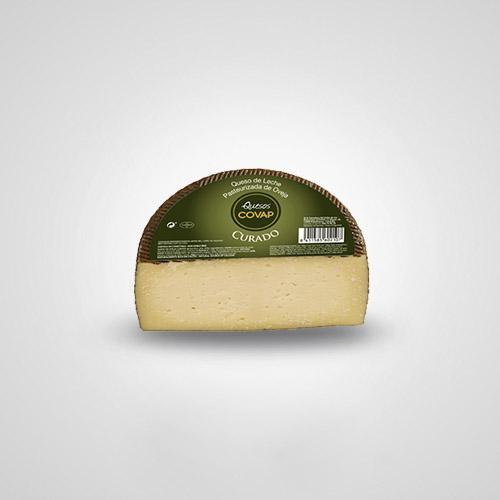 Queso de Oveja de Leche Pasteurizada Curado mitad