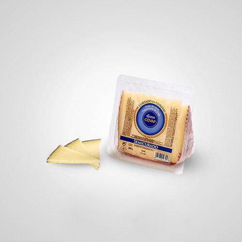 Queso de Oveja de Leche Pasteurizada Semicurado [Cortado]