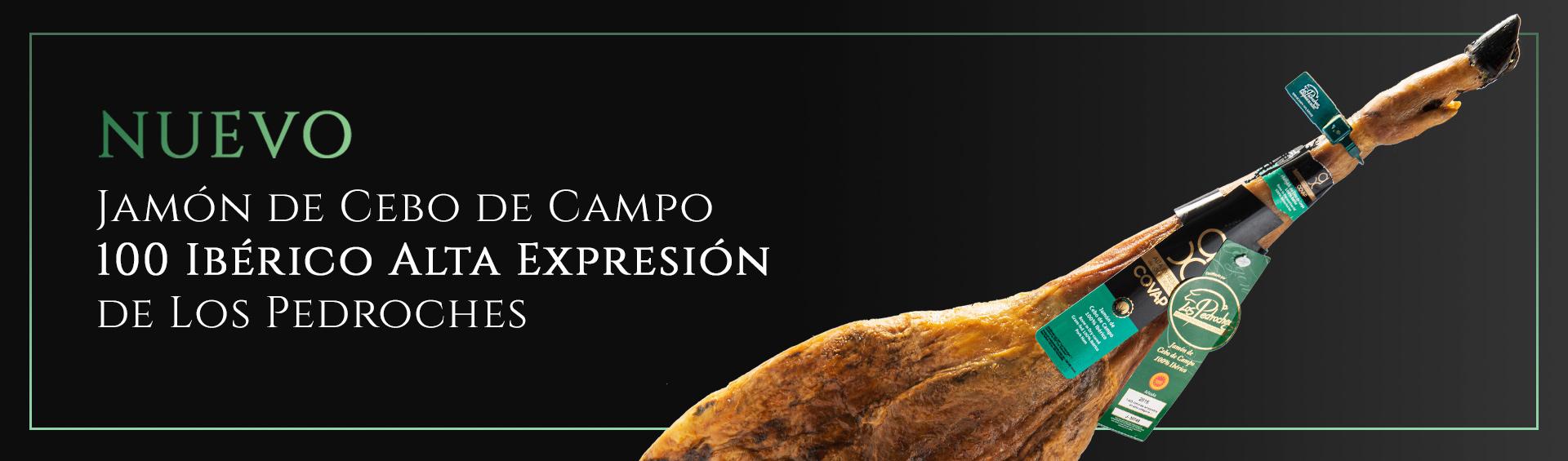 Jamón cebo de campo AX DO | IbericosCOVAP