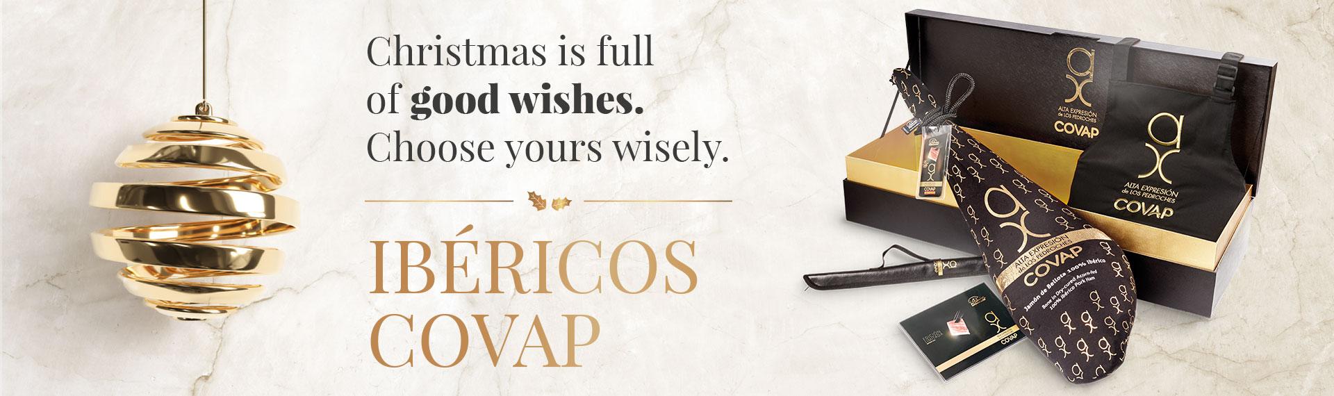 Lotes y cestas de Navidad COVAP - Ibéricos COVAP