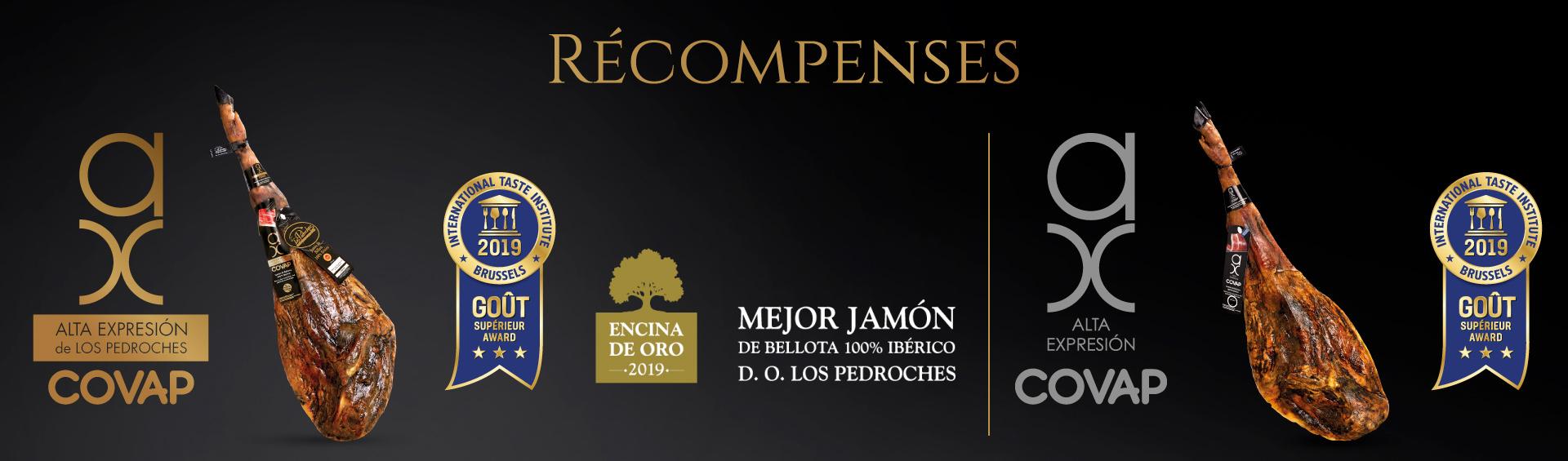 Premios 2019 a Ibericos COVAP | COVAP