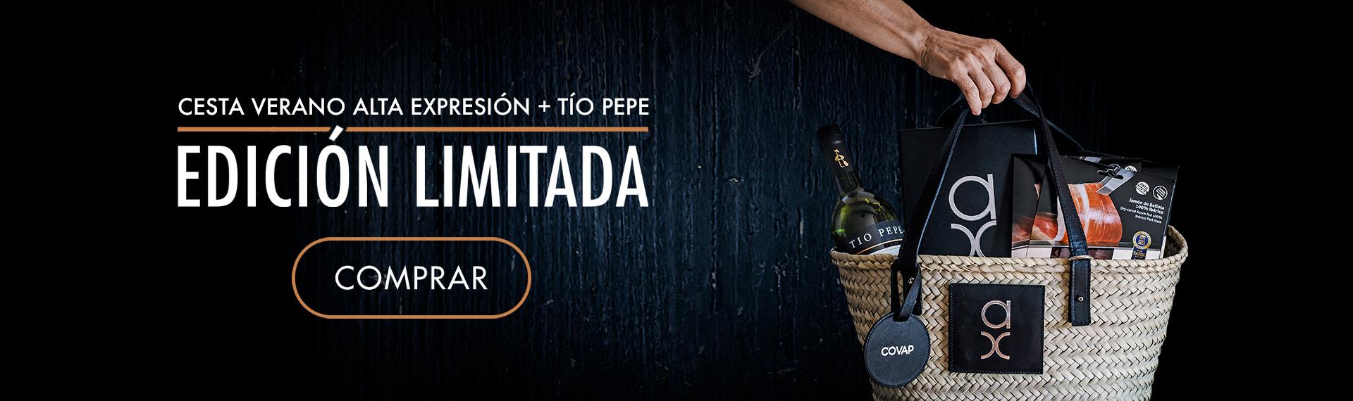 Cesta Verano Alta Expresión + Tío Pepe - Edición Limitada